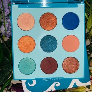 Colorpop mar eyeshadow palette pretty colors